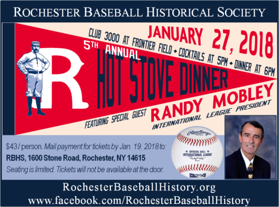 2018 Hot Stove Dinner flyer